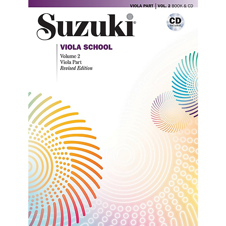 Alfred Suzuki Viola School Viola Part & CD Volume 2 (Revised)