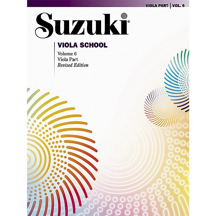 AlfredSuzuki Viola School Viola Part, Volume 6 Book