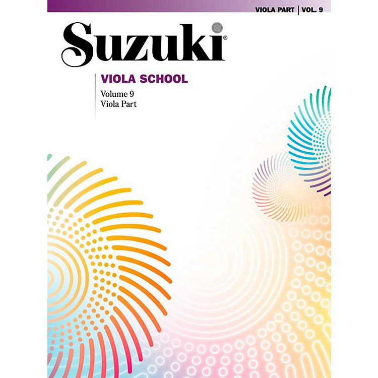 Suzuki Suzuki Viola School Viola Part Volume 9 Book