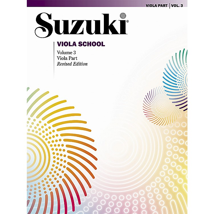 Alfred Suzuki Viola School Volume 3 (Book)