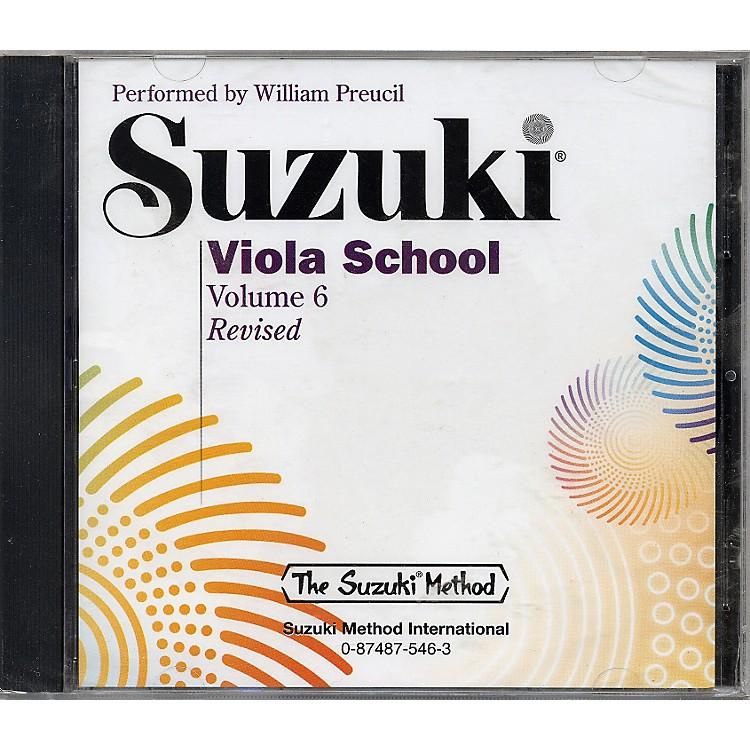 AlfredSuzuki Viola School, Volume 6 (CD)