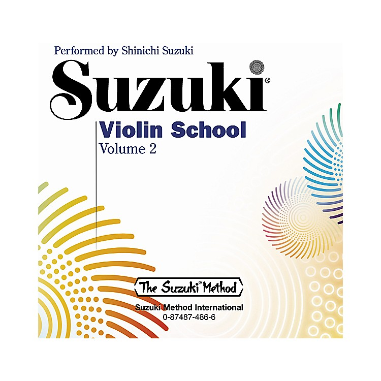 Alfred Suzuki Violin School CD, Volume 2