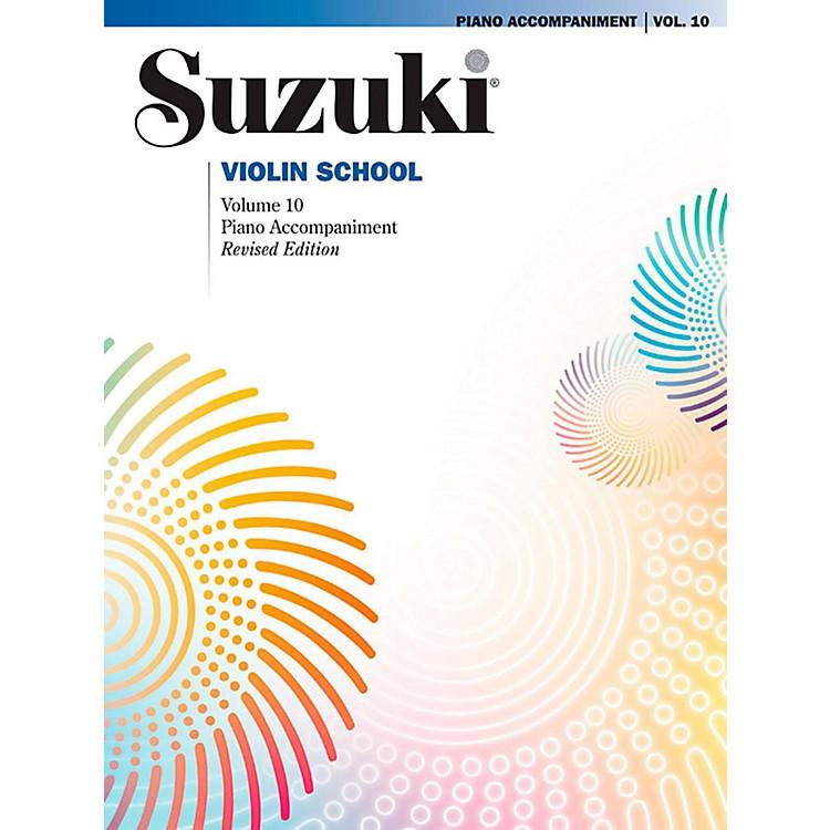 SuzukiSuzuki Violin School Piano Acc. Volume 10 Book