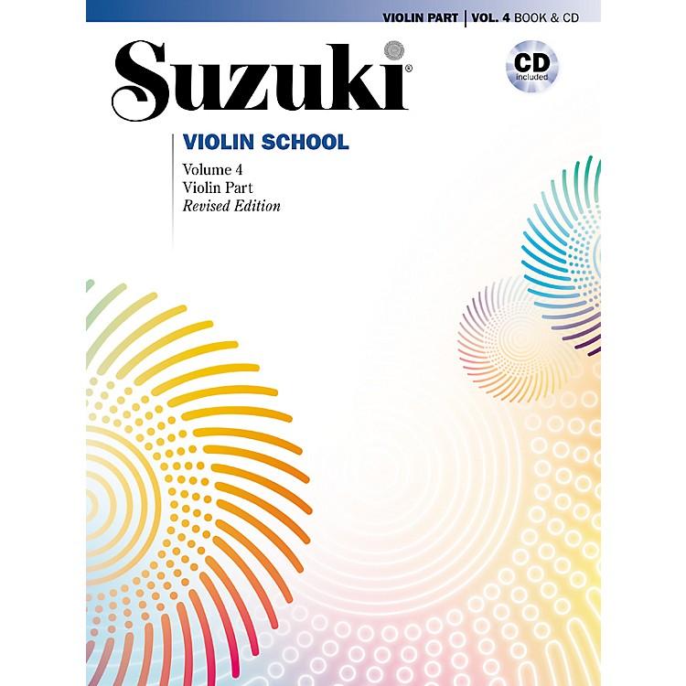 AlfredSuzuki Violin School Violin Part & CD Volume 4