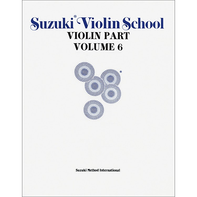 Alfred Suzuki Violin School Violin Part Volume 6 (Book)