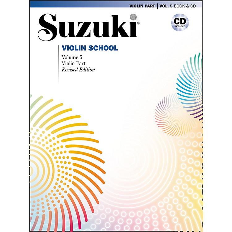 AlfredSuzuki Violin School Volume 5 Revised (Book/CD)