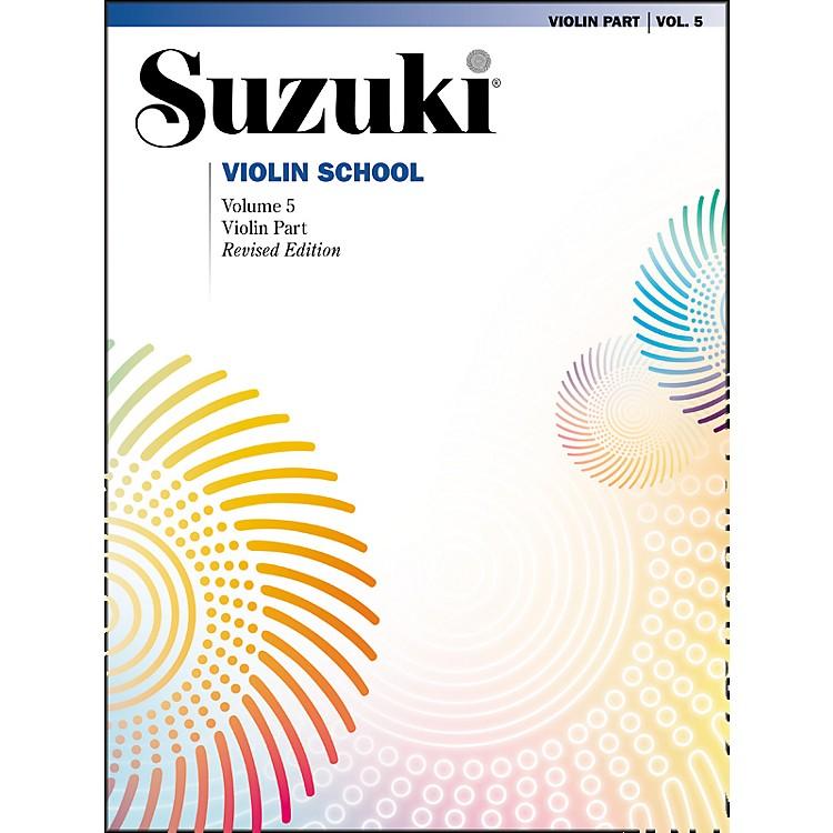 AlfredSuzuki Violin School Volume 5 Revised (Book)
