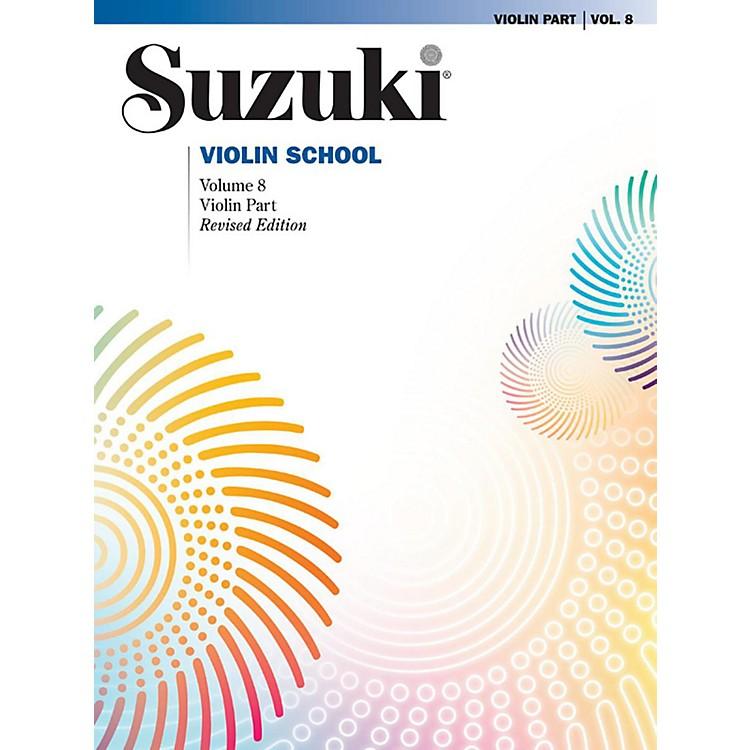 AlfredSuzuki Violin School Volume 8 Book (Revised)