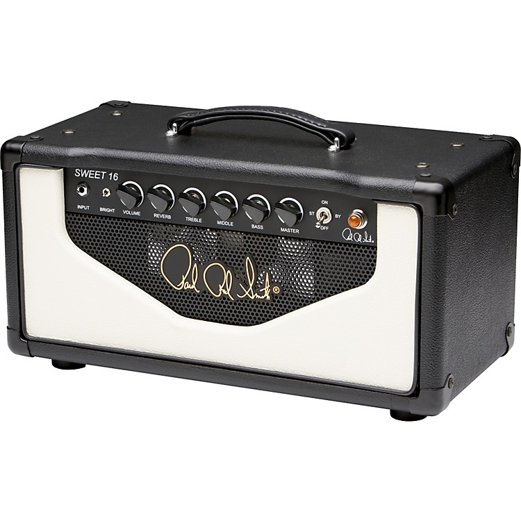 PRS Sweet 16 16W Tube Guitar Amp Head Black and White