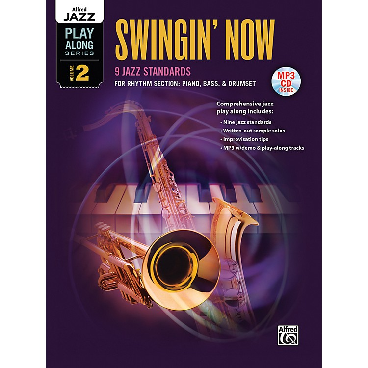 Alfred Swingin' Now Rhythm Section Book & CD
