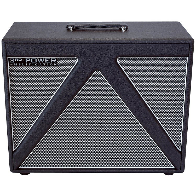 3rd Power Amps Switchback Seris SB112 Guitar Speaker Cabinet with Celestion Alnico Gold Speaker Black