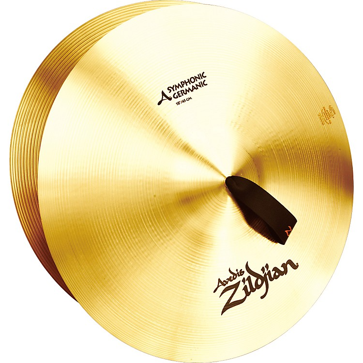 Zildjian Symphonic Germanic Tone Pair 18 in.