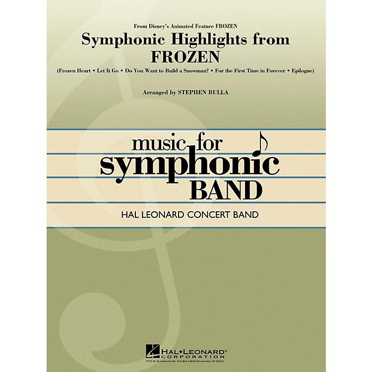 Hal LeonardSymphonic Highlights From Frozen Hal Leonard Concert Band Series Level 4