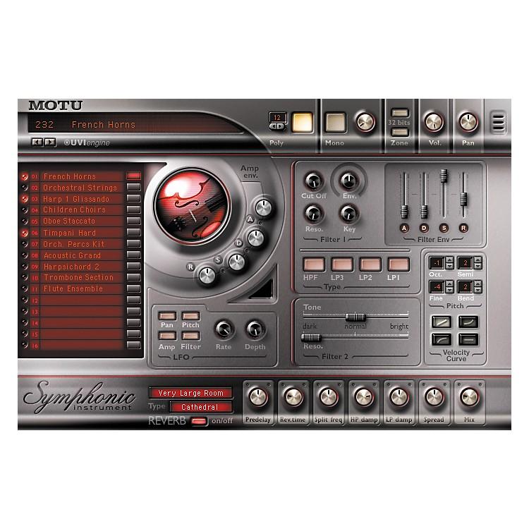 MOTUSymphonic Instrument Plug-In