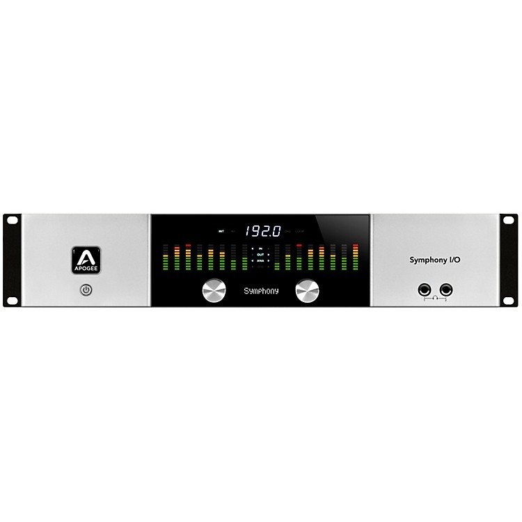 ApogeeSymphony I/O 8x8 Audio Interface with 8 Mic Preamps