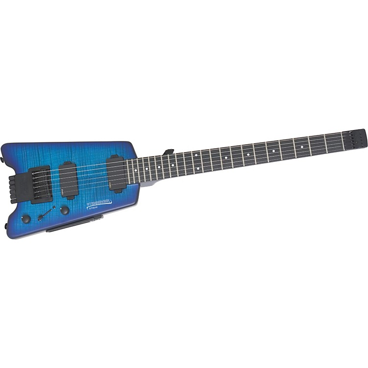 Steinberger Synapse SS-2F Custom Electric Guitar Transparent Blue