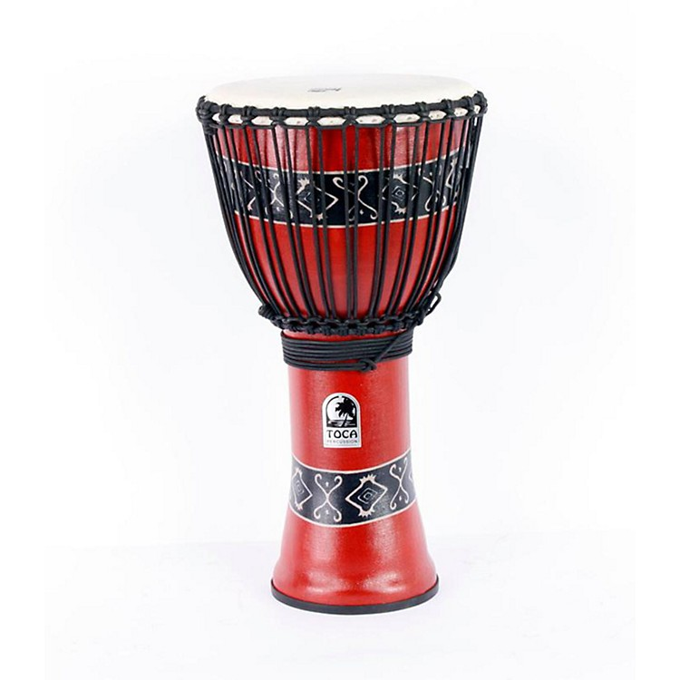 Toca Synergy Freestyle Djembe Red 886830857966