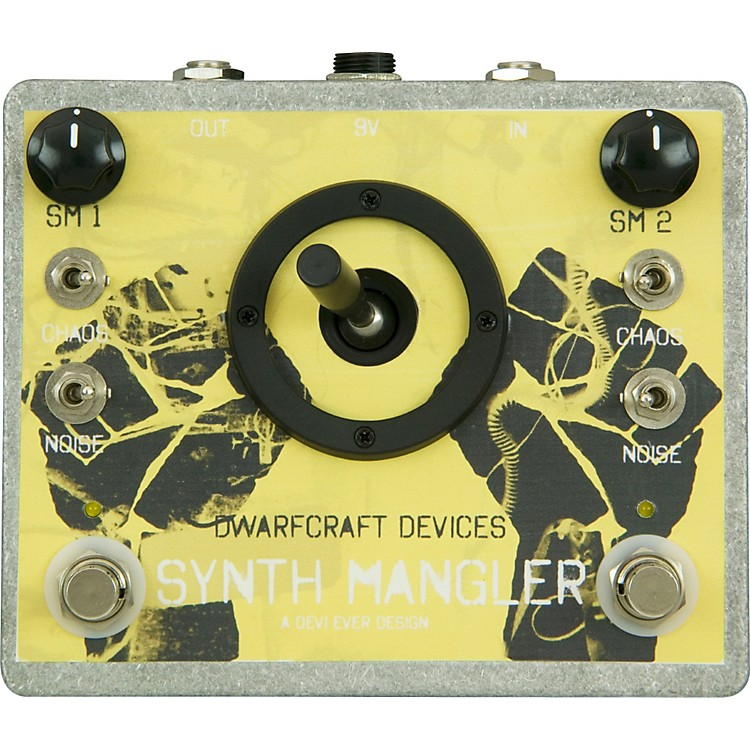 DwarfcraftSynth Mangler Distortion Guitar Effects Pedal