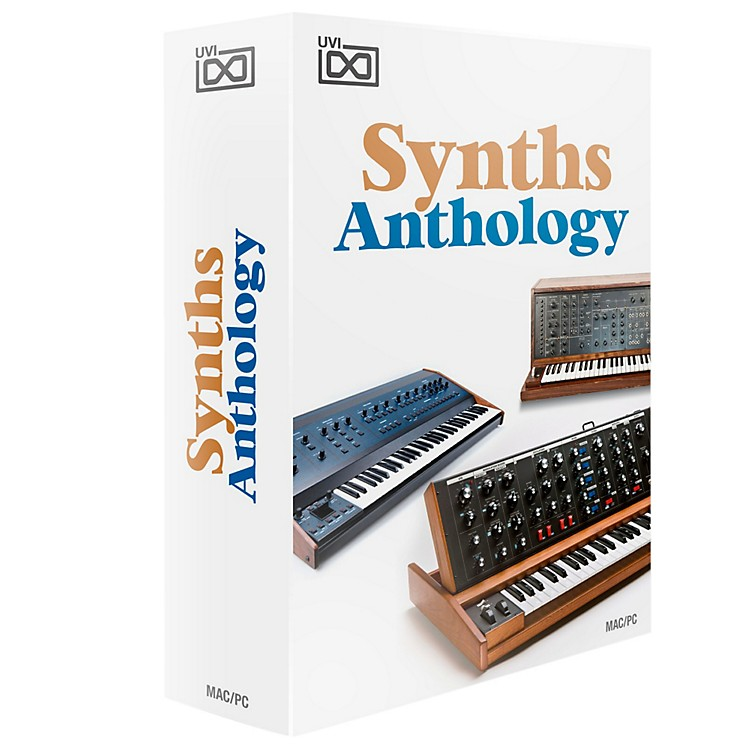 UVI Synths Anthology of Legendary Synths Software Download Software Download