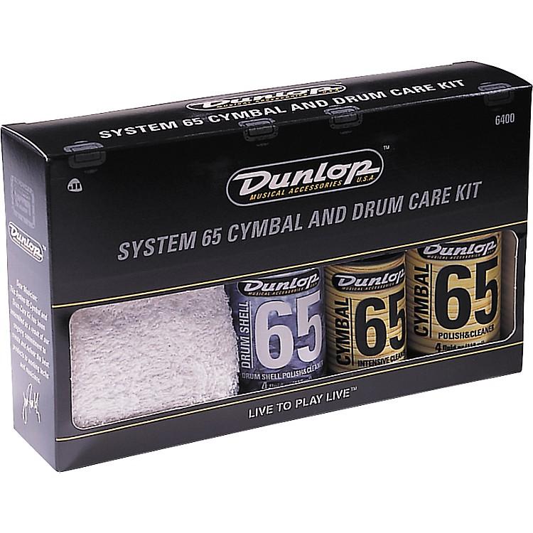 DunlopSystem 65 Cymbal and Drum Care Kit
