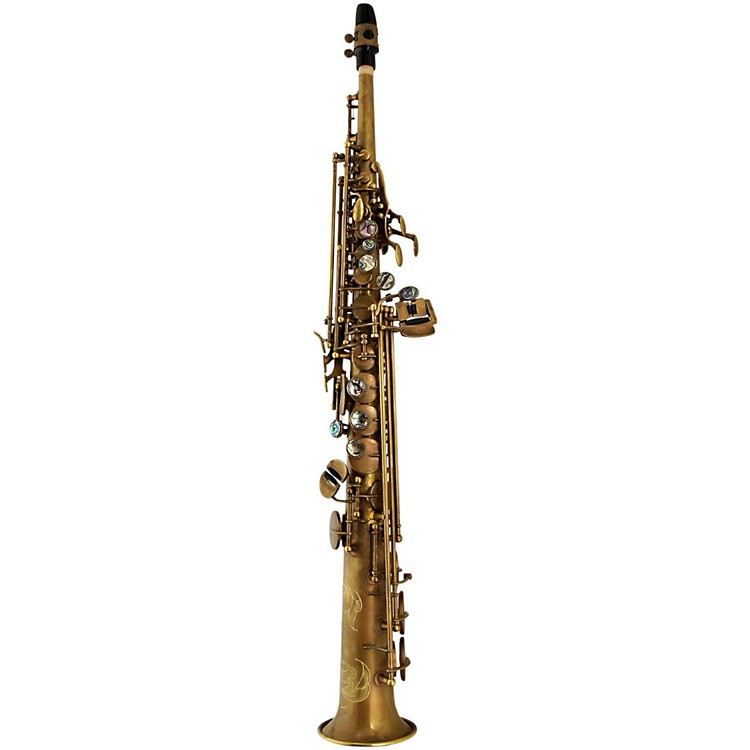 P. Mauriat System 76 1-Piece Professional Soprano Saxophone Un-Lacquered