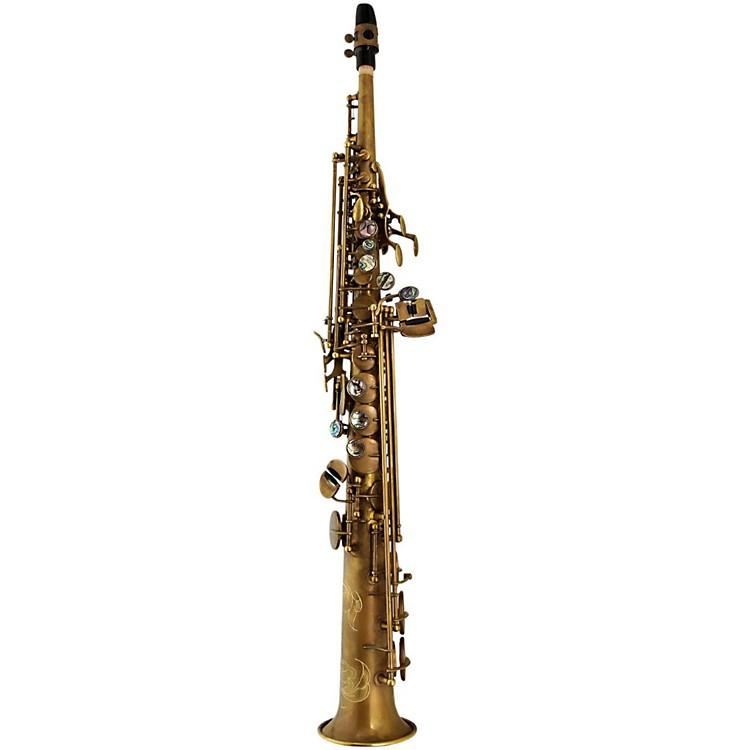 P. MauriatSystem 76 One-Piece Professional Soprano SaxophoneUn-Lacquered