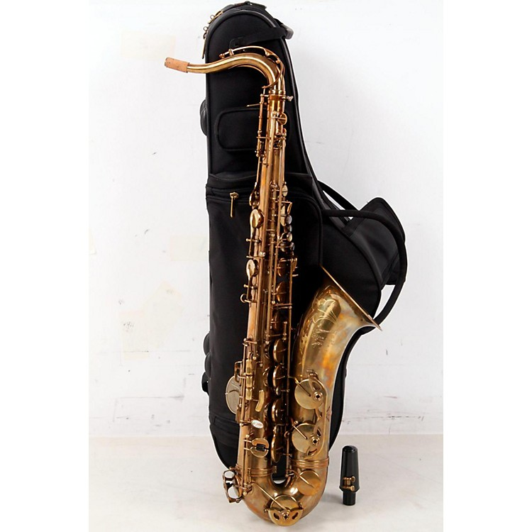 P. Mauriat System 76 Professional Tenor Saxophone Un-lacquered 888365162935