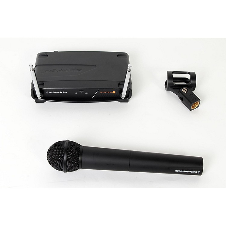 Audio-Technica System 8 Wireless System includes: Handheld Dynamic Unidirectional Microphone/Transmitter 170.245 MHz 888365831077