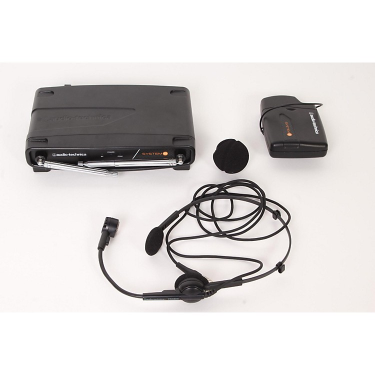 Audio-Technica System 8 Wireless System includes: PRO 8HEcW headworn microphone 171.905 MHz 888365843070