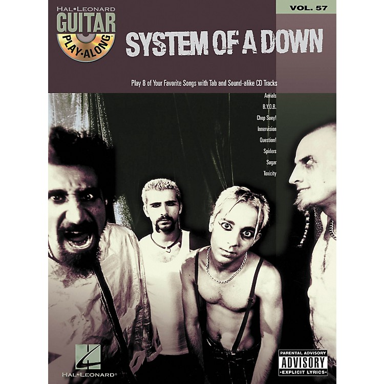 Hal Leonard System of a Down Guitar Play-Along Series Book with CD