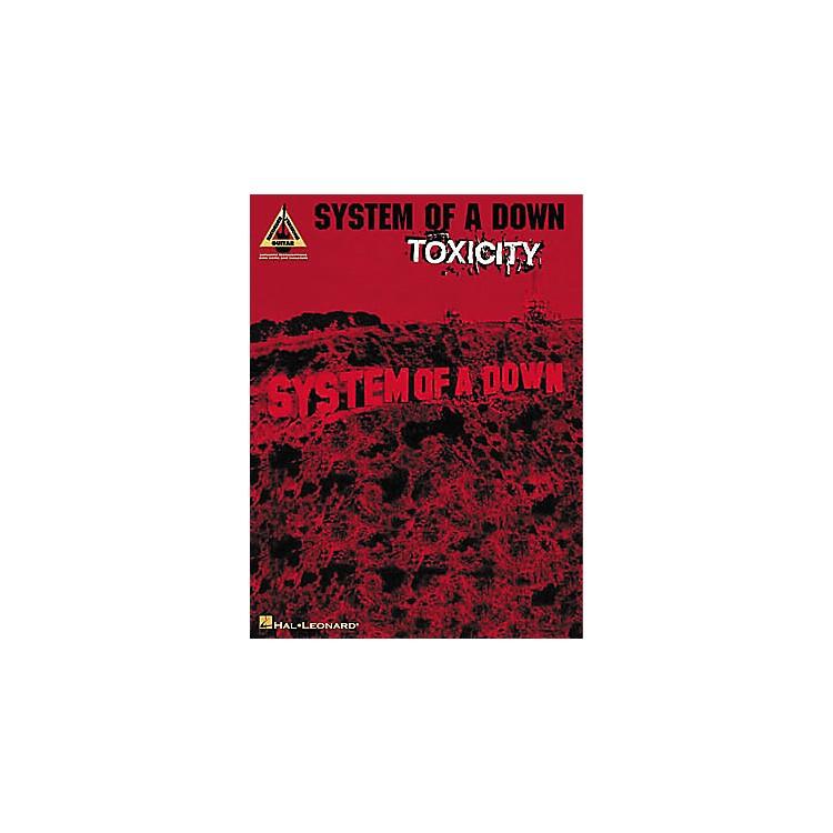 Hal LeonardSystem of a Down Toxicity Guitar Tab Book