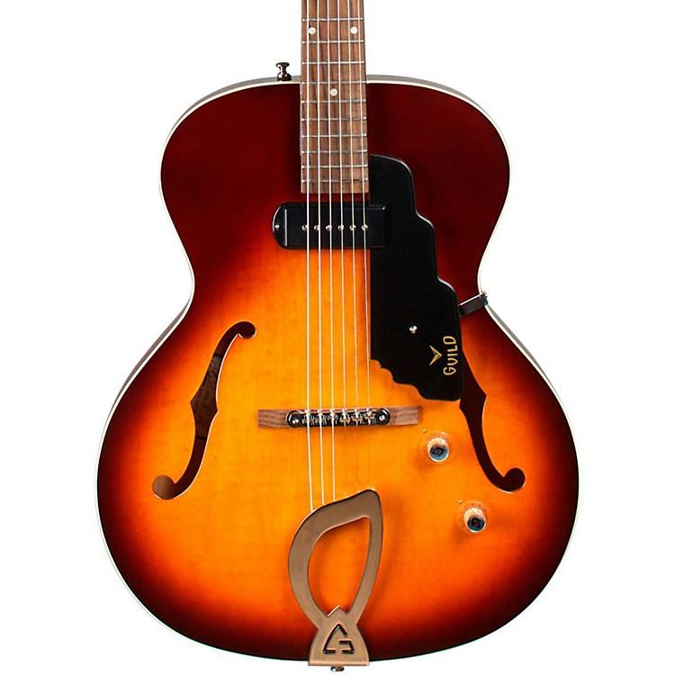 GuildT-50 Slim Hollowbody Electric GuitarAntique Burst