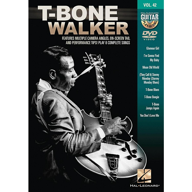 Hal Leonard T-Bone Walker - Guitar Play-Along DVD Volume 42