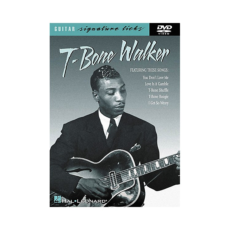 Hal LeonardT-Bone Walker Signature Licks (DVD)