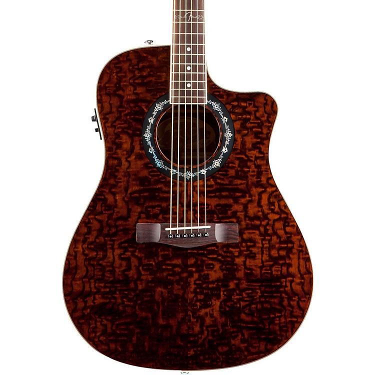 fender t bucket 300 ce cutaway acoustic electric dreadnought guitar music123. Black Bedroom Furniture Sets. Home Design Ideas