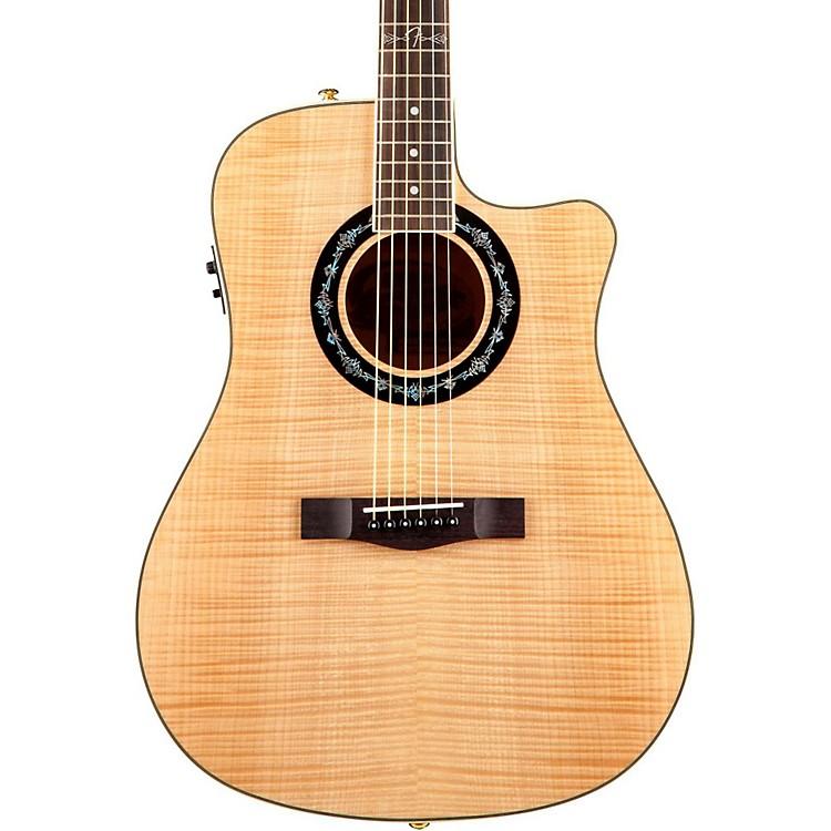 FenderT-Bucket 400 CE Flamed Maple Acoustic-Electric GuitarNatural