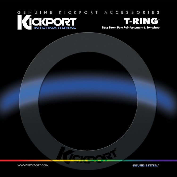Kickport T-Ring Bass Drum Template/Reinforcement Ring Clear