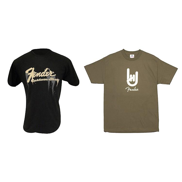 FenderT-Shirt Package