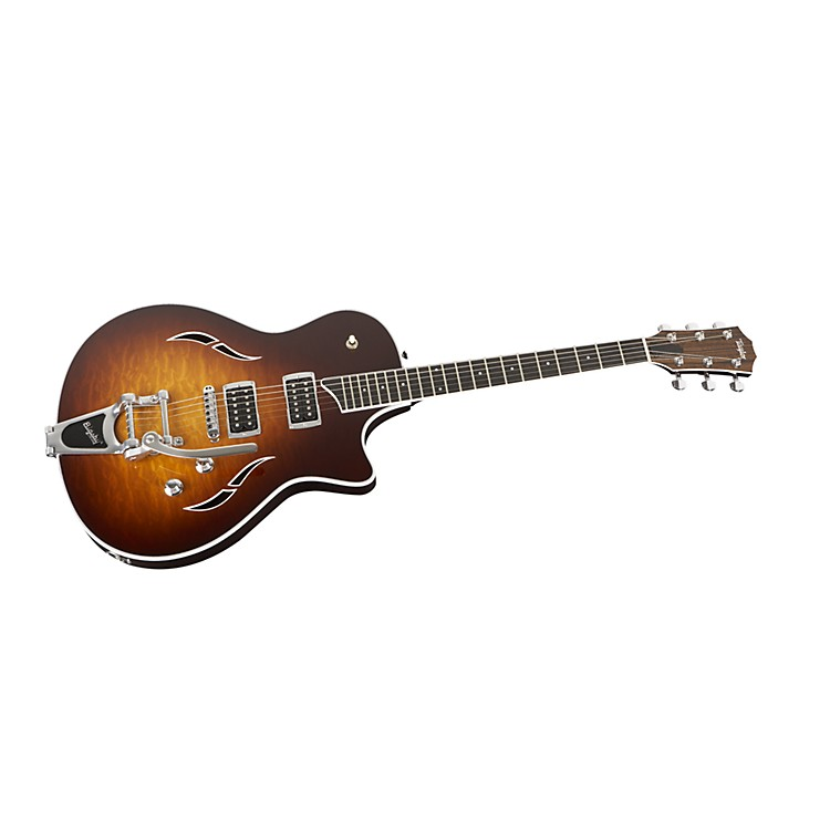 Taylor T3/B Semi Hollowbody Electric Guitar w/ Bigsby Tobacco Sunburst
