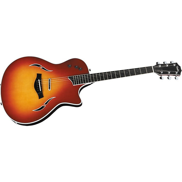 Taylor T5 Standard Acoustic-Electric Guitar with Spruce Top Cherry Sunburst