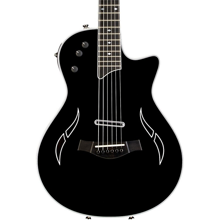 Taylor T5z Standard Cutaway T5 Electronics Spruce Top Acoustic-Electric Guitar Black