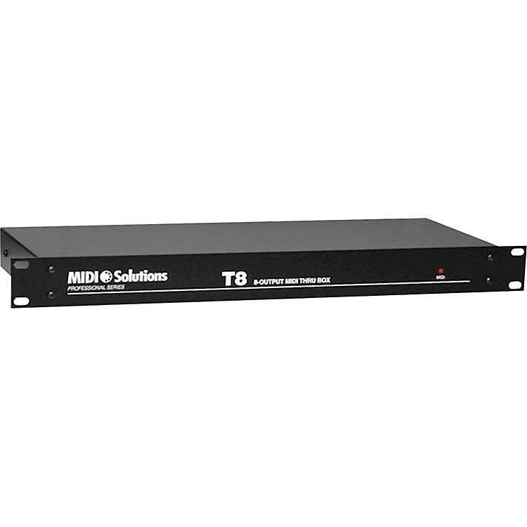 MIDI SolutionsT8 8-Output Active MIDI Thru Box