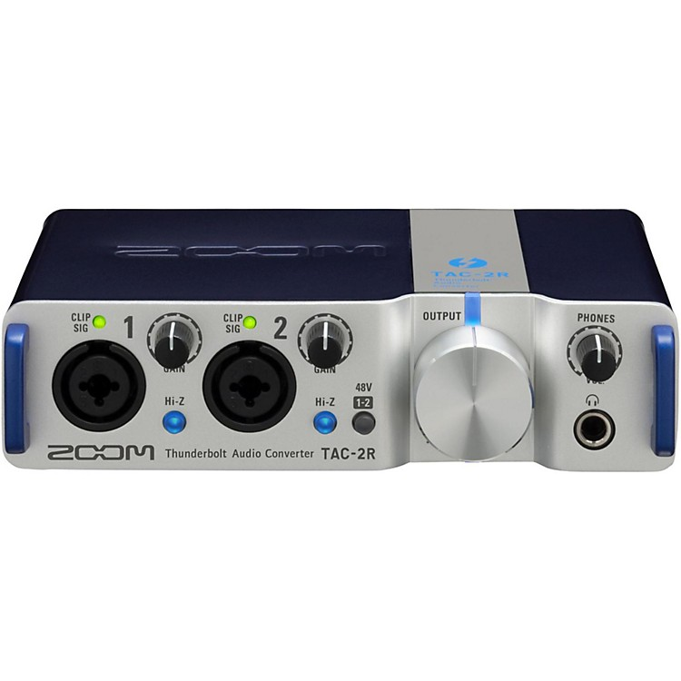 ZoomTAC-2R Two Channel Thunderbolt Interface