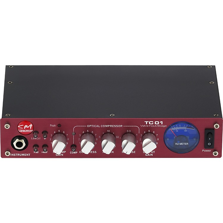 SM Pro Audio TC01 Single Channel Tube Preamp
