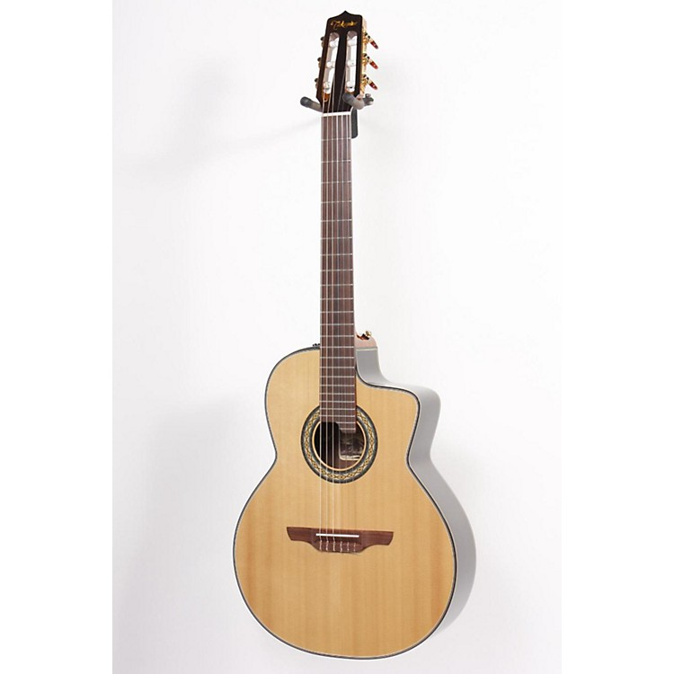 Takamine TC135SC Classical 24-Fret Cutaway Acoustic-Electric Guitar Natural 886830762956