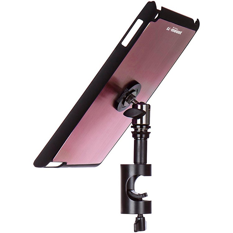 On-Stage Stands TCM9161 Quick Disconnect Tablet Mounting System with Snap-On Cover Muave