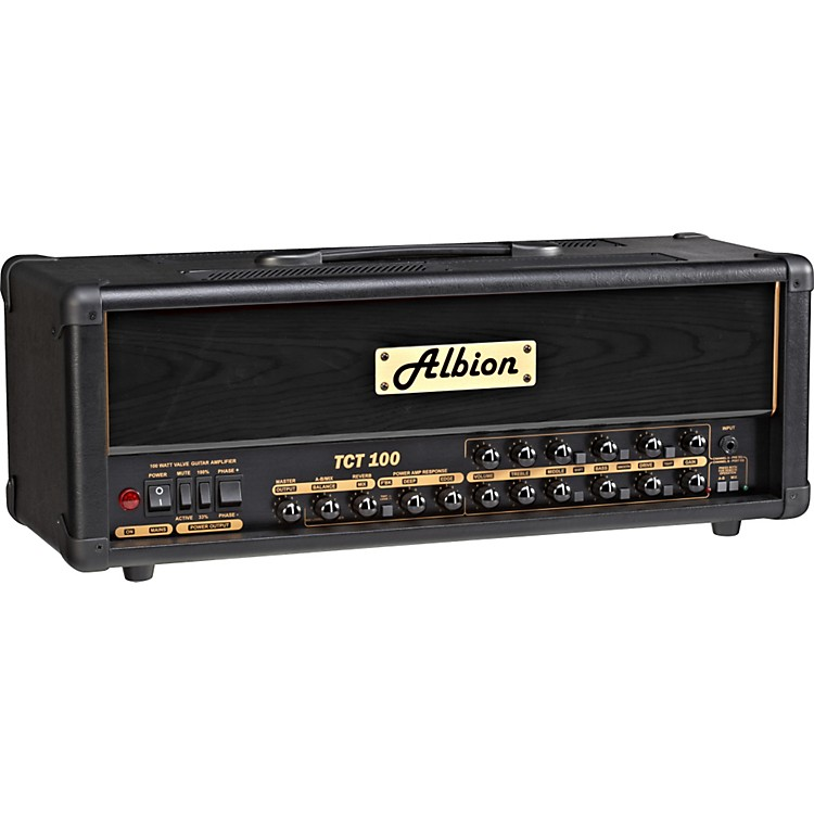 Albion Amplification TCT Series TCT100H 100W Tube Guitar Amp Head Black
