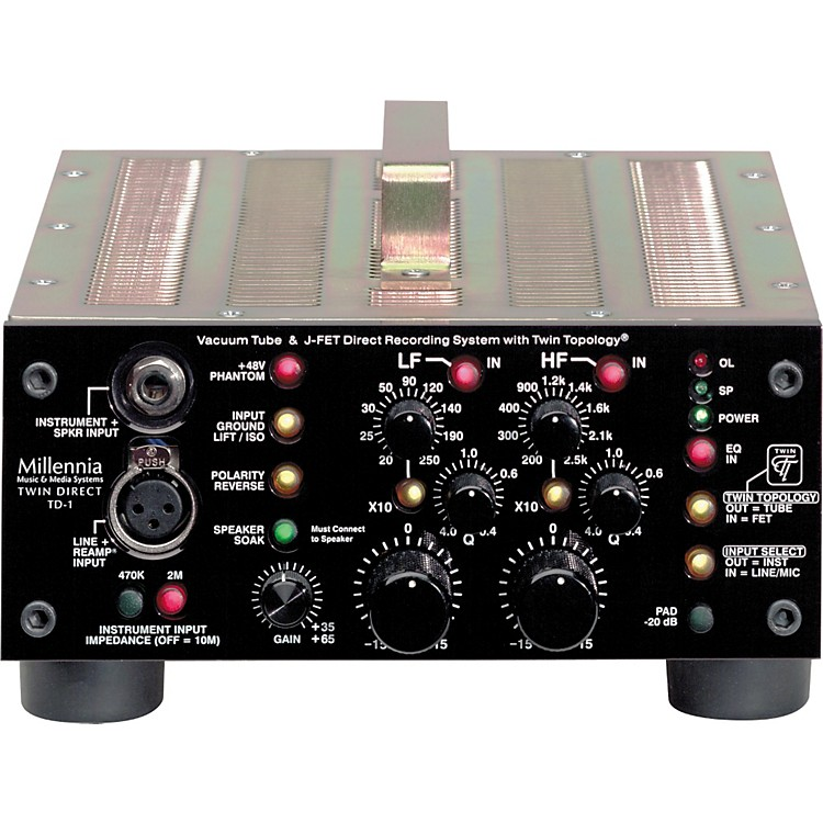 Millennia TD-1 Half Rack Recording Channel
