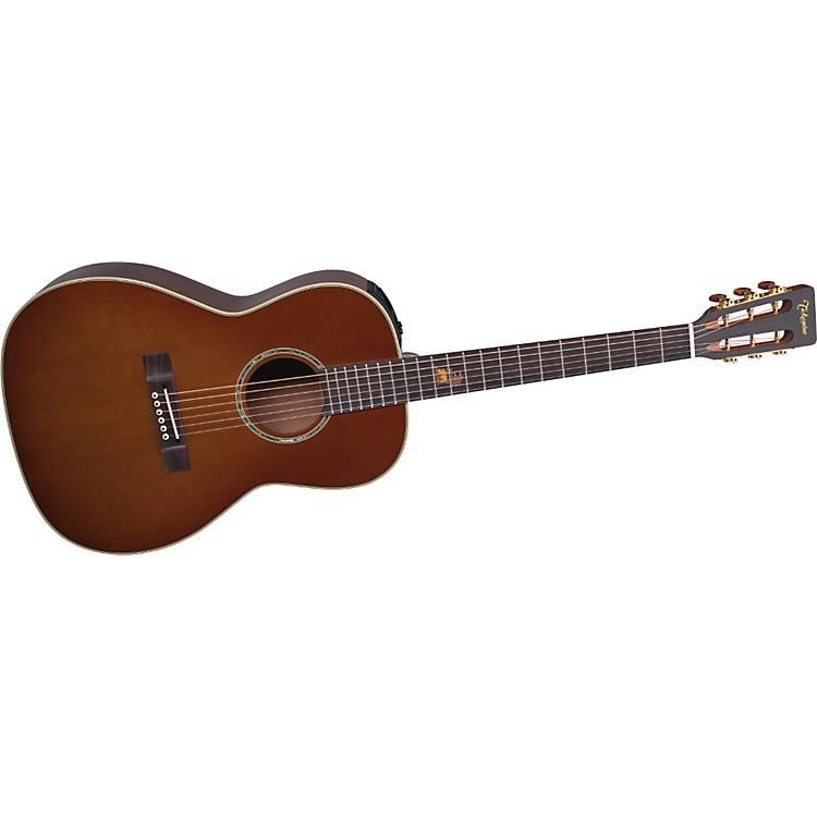 TakamineTFF87PT New Yorker Body Koa Acoustic-Electric Guitar
