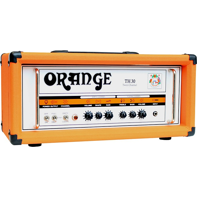 Orange Amplifiers TH30H 30W Tube Guitar Amp Head Orange